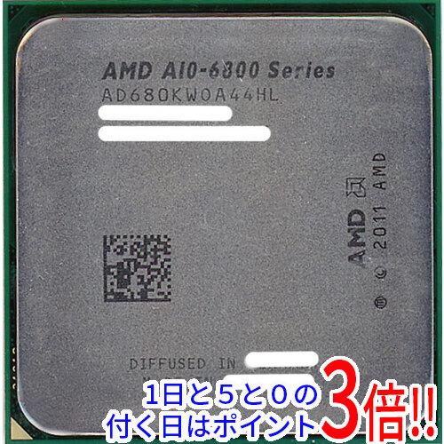 【エントリーでポイント10倍!12/1 10:00~1/1 9:59まで!!】【中古】AMD A10-Series A10-6800K BE Socket FM2 AD680KWOA44HL