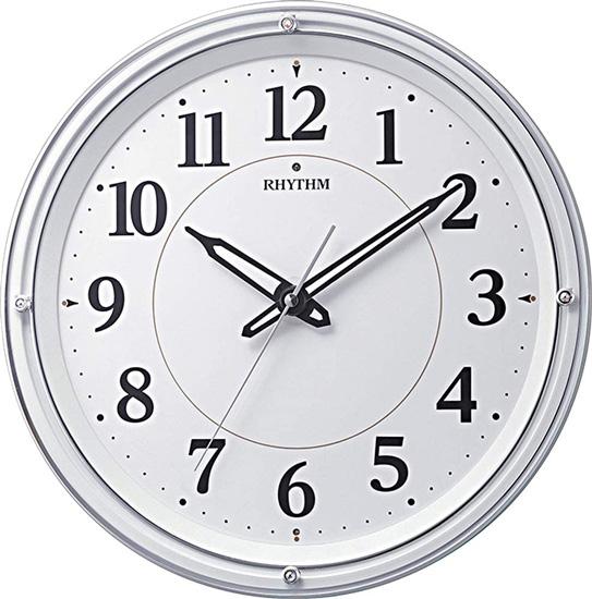 リズム時計 電波掛け時計 リバライト 8MY533SR03