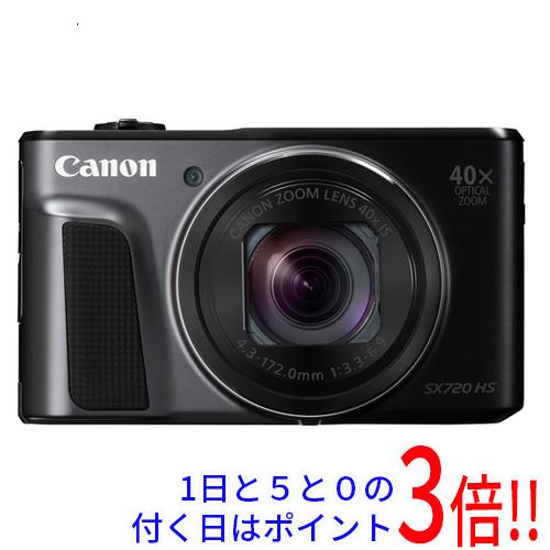 Canon製 PowerShot SX720 HS ブラック 2030万画素