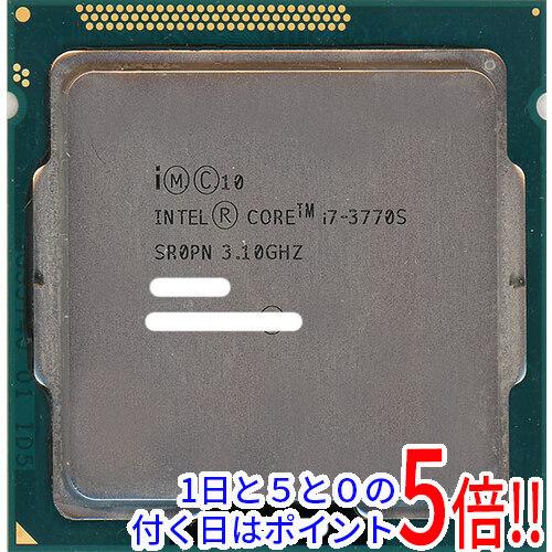 【キャッシュレスで5%還元】【中古】Core i7 3770S 3.1GHz LGA1155 SR0PN