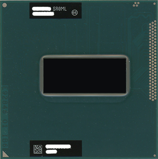【中古】Core i7 3720QM 2.6GHz Socket G2 SR0ML