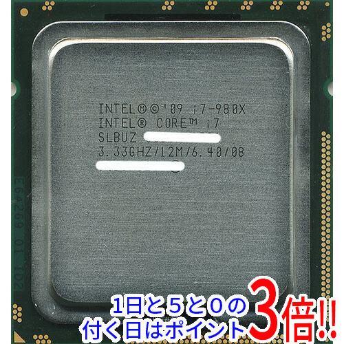 あす楽対応 中古 Core i7 980X Extreme s まとめ買い特価 6.4GT 商い Edition SLBUZ 3.33GHz