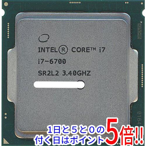 【キャッシュレスで5%還元】【中古】Core i7 6700 3.4GHz 8M LGA1151 65W SR2L2