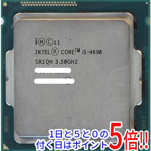 【中古】Core i5 4690 3.5GHz 6M LGA1150 84W SR1QH