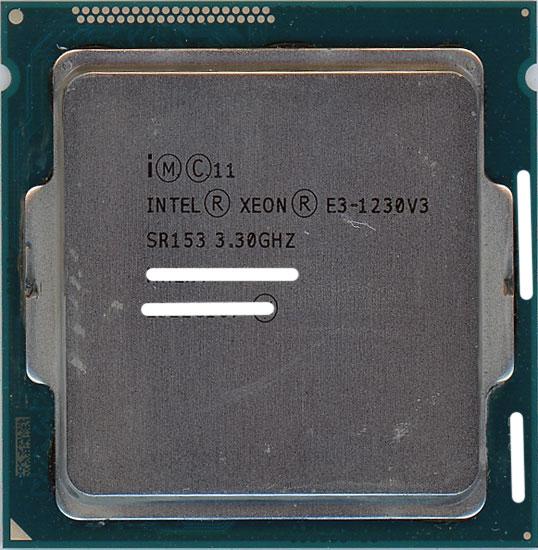 【エントリーでポイント10倍!12/1 10:00~1/1 9:59まで!!】【中古】Xeon E3-1230 v3 3.3GHz 8M LGA1150 SR153
