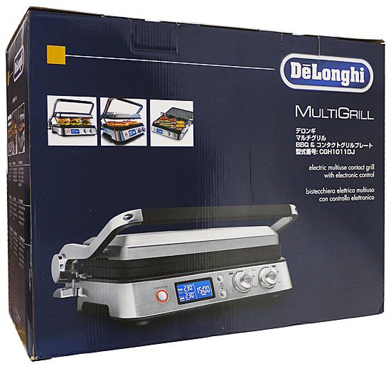 DeLonghi BBQ & コンタクトグリルプレート マルチグリル CGH1011DJ