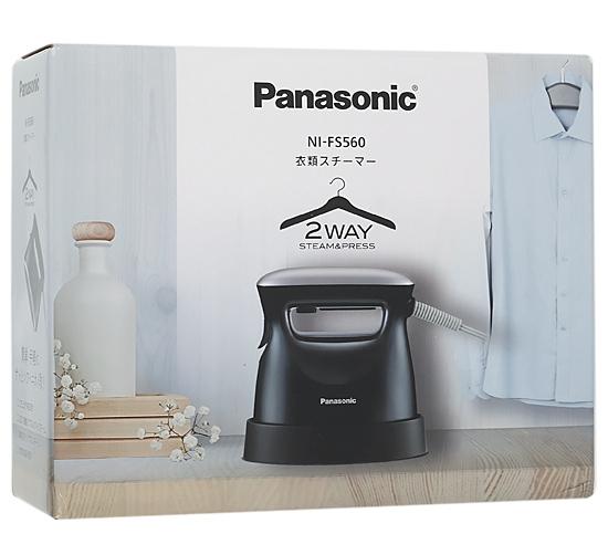 モデル着用&注目アイテム 延長保証対象商品 まとめて購入はココ Panasonic 豪華な 衣類スチーマー ブラック NI-FS560-K