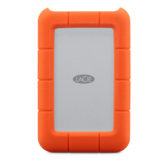 【キャッシュレスで5%還元】LaCie Rugged Mini USB-C Portable Drive 4TB STFR4000800 2EUAPA
