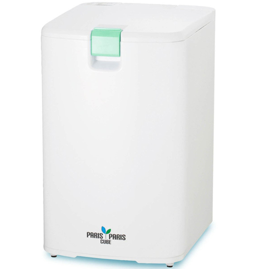【中古】島産業 家庭用屋内型生ごみ処理機 乾燥式 PPC-01-GN 美品
