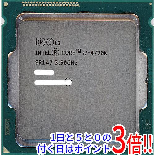 【中古】Core i7 4770K Haswell 3.5GHz LGA1150 SR147