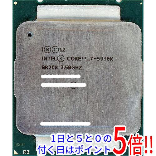 【キャッシュレスで5%還元】【中古】Core i7 5930K 3.50GHz LGA2011 SR20R