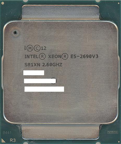 Xeon E5-2690 v3 バルク 中古 2.6GHz SR1XN 送料無料激安祭 LGA2011-3 30M ランキングTOP10