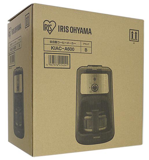 アイリスオーヤマ 全自動コーヒーメーカー KIAC-A600