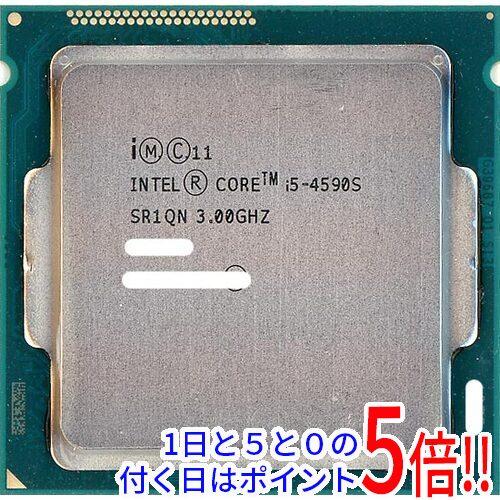 【中古】Core i5 4590S 3GHz 6M LGA1150 65W SR1QN