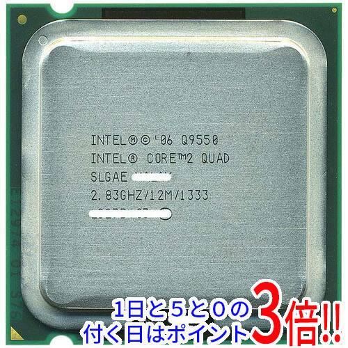 【キャッシュレスで5%還元】【中古】Core 2 Quad Q9550S 2.83GHz FSB1333MHz LGA775 SLGAE
