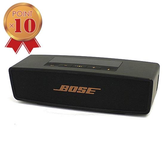 【エントリーでポイント5倍!】【中古】BOSE SoundLink Mini Bluetooth Speaker II Limited Edition ブラック/カッパー 並行輸入品