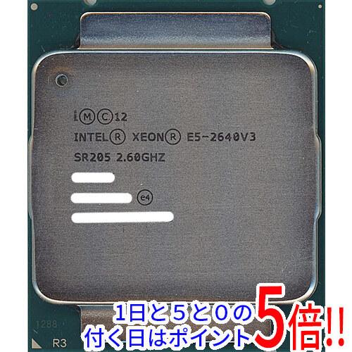 【キャッシュレスで5%還元】【中古】Xeon E5-2640 v3 2.6GHz 20M LGA2011-3 SR205