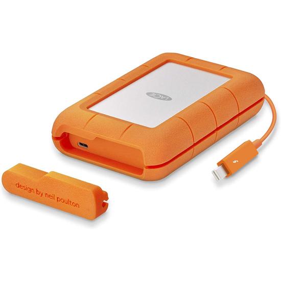 【キャッシュレスで5%還元】LaCie ポータブルハードディスク Rugged TB USB-C 4TB STFS4000800