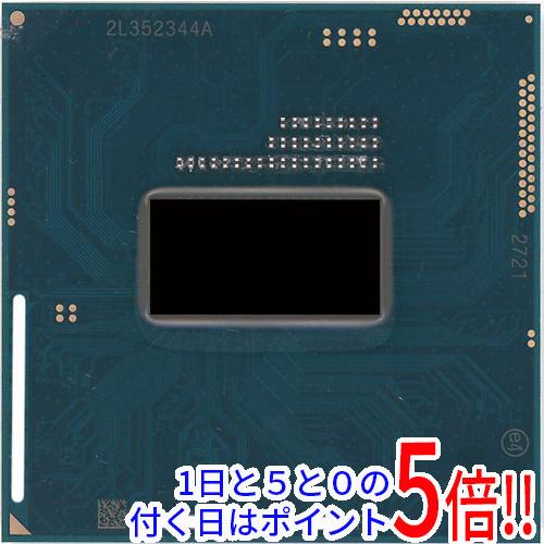 【キャッシュレスで5%還元】【中古】Core i7 Mobile i7-4600M 2.9GHz Socket G3 SR1H7