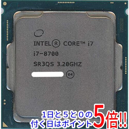 【キャッシュレスで5%還元】【中古】Core i7 8700 3.2GHz LGA1151 65W SR3QS