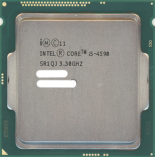 【中古】Core i5 4590 3.3GHz 6M LGA1150 84W SR1QJ