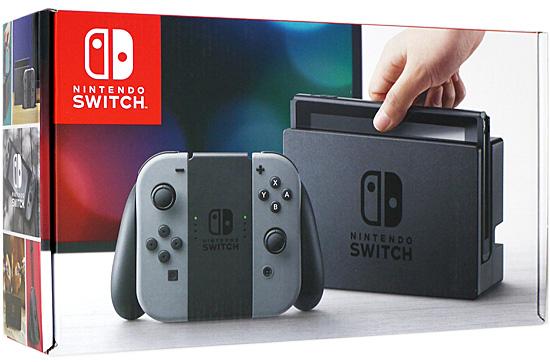 【中古】任天堂 Nintendo Switch グレー 未使用
