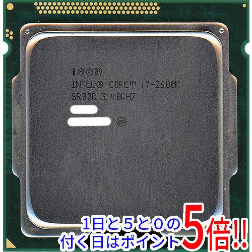【エントリーでポイント10倍!12/1 10:00~1/1 9:59まで!!】【中古】Core i7 2600K 3.4GHz LGA1155 SR00C