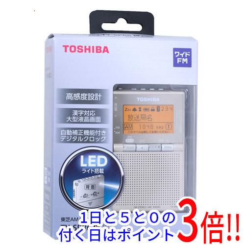 【エントリーでポイント10倍!12/1 10:00~1/1 9:59まで!!】TOSHIBA ワイドFM/AMポケットラジオ TY-SPR6-N