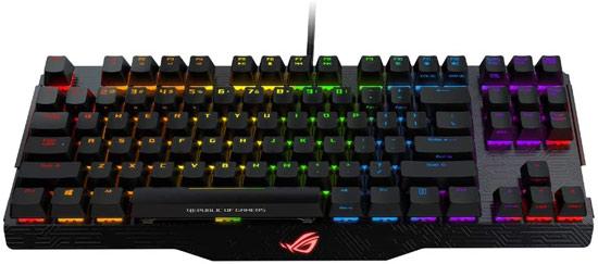【キャッシュレスで5%還元】ASUS ゲーミングキーボード ROG Claymore 青軸