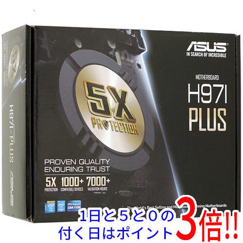 【中古】ASUS Mini-ITXマザーボード H97I-PLUS LGA1150