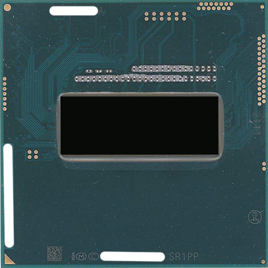 【中古】Core i7 4940MX Extreme Edition 3.1GHz Socket G3 SR1PP