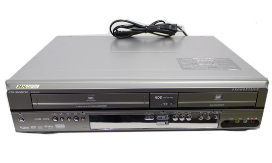 【中古】DXアンテナ製 ビデオ一体型HDD搭載DVDレコーダー DVHR-V161 リモコン付き