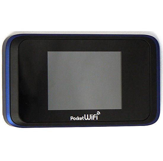 【エントリーでポイント10倍!12/1 10:00~1/1 9:59まで!!】【中古】HUAWEI Softbank Pocket WiFi 501HW ネイビーブルー