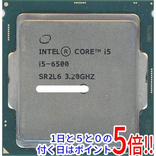 【キャッシュレスで5%還元】【中古】Core i5 6500 3.2GHz 6M LGA1151 65W SR2L6