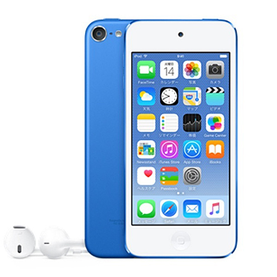 Apple 第6世代 iPod touch MKH22J/A ブルー/16GB
