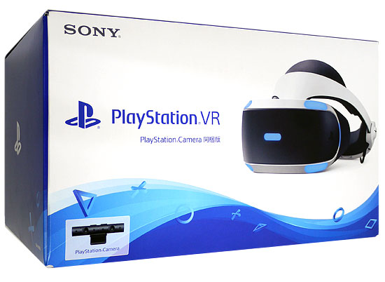 【中古】SONY PlayStation VR PlayStation Camera同梱版 CUHJ-16003 元箱あり