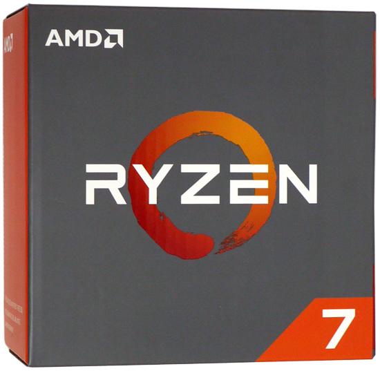 【中古】AMD Ryzen 7 1800X YD180XBCM88AE 3.6GHz SocketAM4 元箱あり