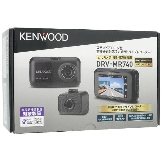 KENWOOD 前後撮影対応2カメラドライブレコーダー DRV-MR740