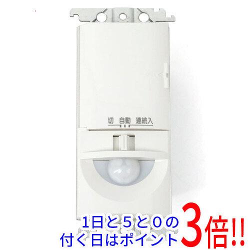 【エントリーでポイント10倍!12/1 10:00~1/1 9:59まで!!】【新品(開封のみ・箱きず・やぶれ)】 Panasonic トイレ壁取付熱線センサ付自動スイッチ 換気扇連動用 WTK1614W