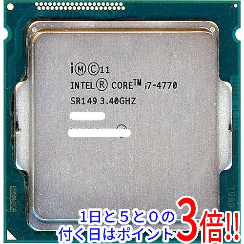【キャッシュレスで5%還元】【中古】Core i7 4770 Haswell 3.4GHz LGA1150 SR149