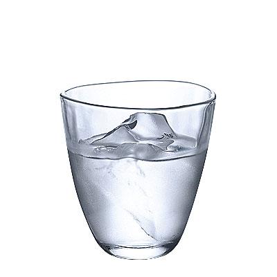 厚手のガラスは 日本限定 手にした時ぬくもり感があります てびねり フリーカップ メーカー公式ショップ L