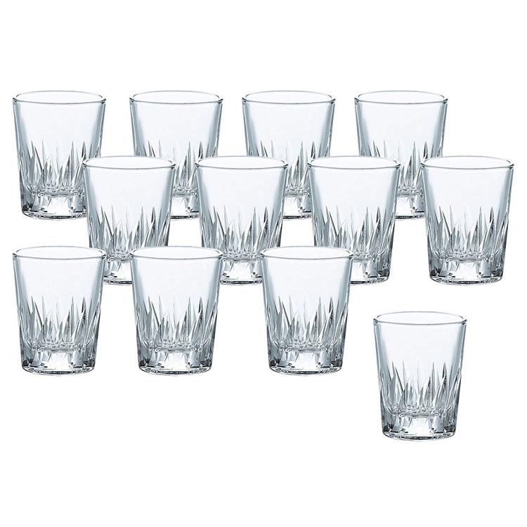 東洋佐々木ガラス ショットグラス ナックフェザー 60ml×12個セット P-01105-2