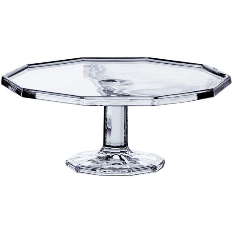 東洋佐々木ガラス コンポート皿 クリア 約φ30×11.6cm ローシュ ケーキコンポート大 日本製 45996