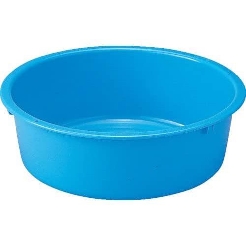 超定番 タライ たらい ポリタライ 洗濯 せんたく 掃除 ブルー 野菜洗い そうじ 衛生 リス 正規認証品!新規格 リスタライ54型