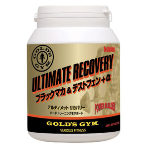 Gold's gym ultimate recovery Blackman & test fen + α 300