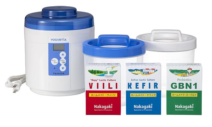 3種類の発酵乳のお試しセット【送料無料】<BR>【フィンランドで人気のヴィーリもセットになりました】