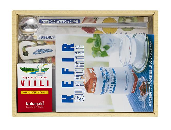 フィンランドで人気の伸びる発酵乳初めてヴィーリを作る方に これだけ揃えば誰でも簡単にヴィーリを作れます 健康を考えるお友達や知人へプレゼントすると喜ばれます ホームメイド ヴィーリのスターターキット 対応 伸びる発酵乳 送料無料限定セール中 交換無料 送料無料 食物繊維をつくる 楽ギフ_のし