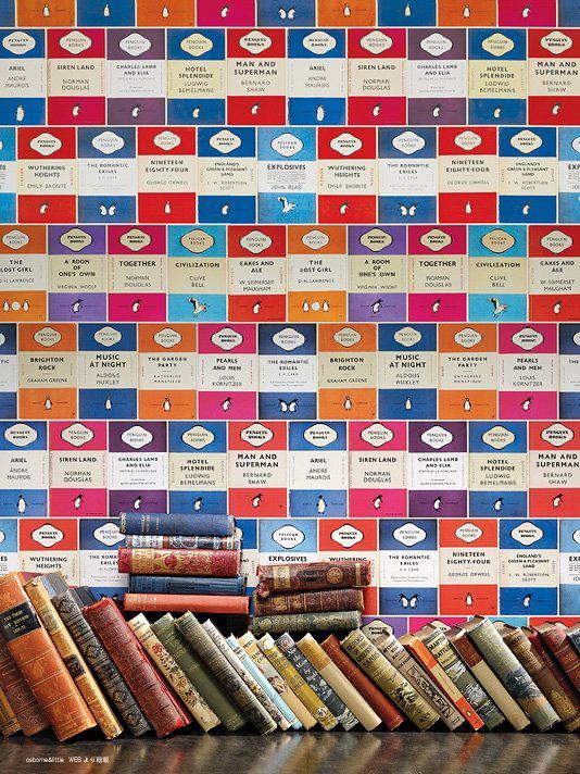 ペンギンライブラリー 壁紙10m巻 気質アップ Penguin 新品未使用正規品 Libraryペンギンライブラリー
