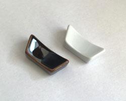 なにより使いやすく生活になじむ 白山陶器 至上 クレストシングル箸置き 箸置き スピード対応 全国送料無料