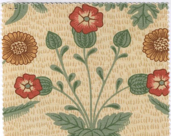 William Morrisファブリック デイジー daisy ひな菊【輸入ファブリック】【イギリス製】【オーダーカーテン】【1M単位カット販売可】【国内在庫品】